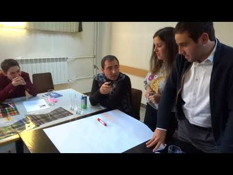"""""""Young Activist"""" Project: Workshop in Gyumri, Shirak region, Working group 1"""
