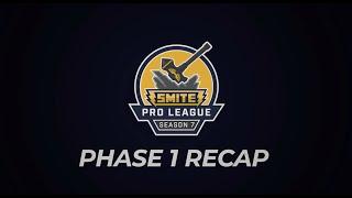 SMITE Pro League: Season 7 Phase 1 Recap