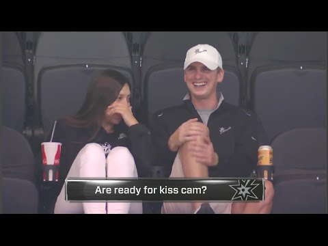 Thumbnail: Friendzoned Guy Has an Awkward Moment On The Kiss Cam