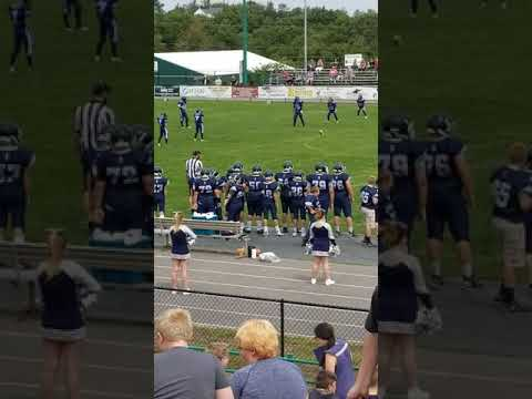 Romney middle school football game 2019