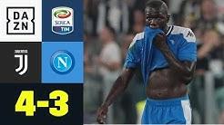 Pechvogel Koulibaly entscheidet 7-Tore-Kracher: Juventus - Neapel 4:3 | Serie A | DAZN Highlights