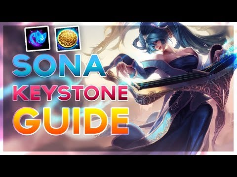 New Sona Support Runes and Keystones Guide - Sorcery and Inspiration (League of Legends)