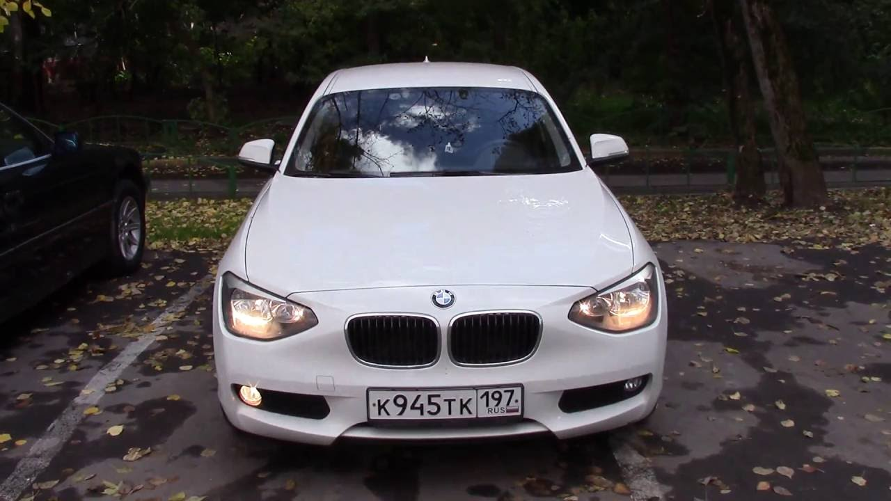 How To Change A Front Fog Light Bmw 1 Series F20 F21 2011