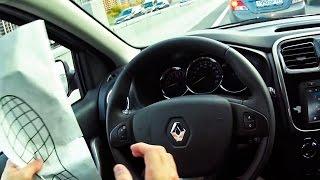 Прежде чем покупать Рено Сандеро! Тест драйв Renault Sandero 2014 - первое впечатление (ч.1)(Что вас ждёт, если вы купите Сандеро?! Прежде чем бежать и покупать, просто посмотрите это видео! Я покажу..., 2014-11-08T20:53:24.000Z)