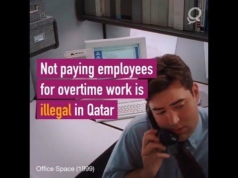 Laws of Qatar - Overtime Pay