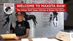 Maxota Raw Dog Food - The Urban Wolf Open Kitchen & Retail Pet Store