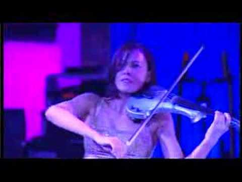 Electric Violinist Linzi Stoppard Rocks Adagio For Strings  Electric Violin Remix