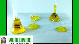 Olive Oil Bonbon - Sugar Encapsulated Olive Oil - Molecular Gastronomy Secrets