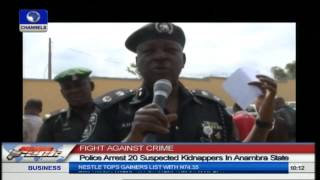 Fight Against Crime: Police Arrest 20 Suspected Kidnappers In Anambra State