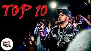 Rap Contenders - TOP 10 CLASHEURS