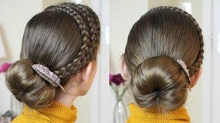 2 Dance and Gymnastics Hairstyles  | Dance Hairstyles | Braidsandstyles12