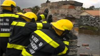 Fire Fighters Cape Town New Recruits 2012