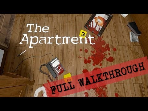 The Apartment FULL GAME WALKTHROUGH GAMEPLAY & ENDING (No Commentary)