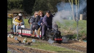 Full steam ahead at the East Herts Miniature Railway (4K)