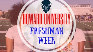 Howard University Freshman Week (Is Nick Cannon #HU20?)