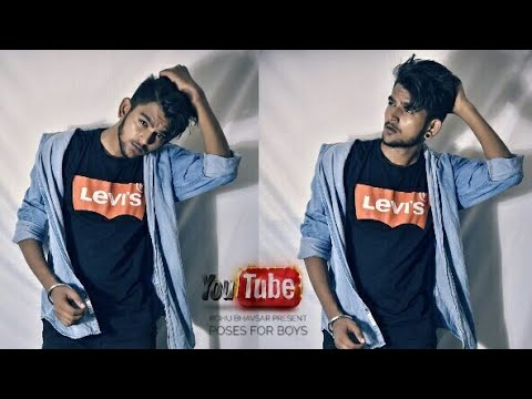New Stylish Pose For Boys 2018 Model Pose Indoor Shoot Youtube