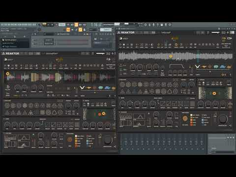 [Reaktor] CATALIZ° By BLINKSONIC° - Presets Random Previews And Jam