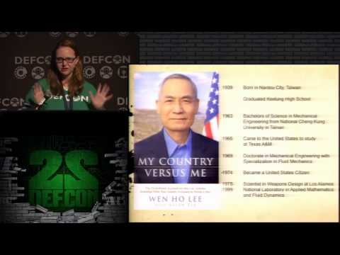DEF CON 22 - Tess Schrodinger - From Raxacoricofallapatorius With Love