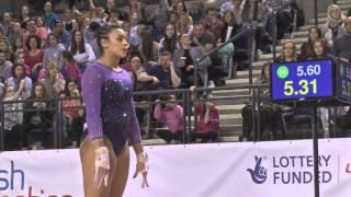 Ellie DOWNIE Vault GOLD - 2016 Apparatus Finals - Vault 2