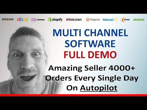 Multi Channel eCommerce Software (Demo) eBay, Amazon, Shopify, Walmart, Website, etc