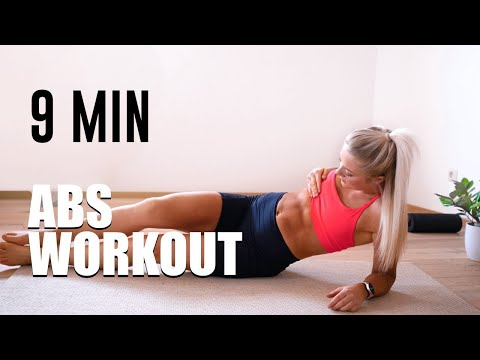 9 MIN ABS WORKOUT | Crossfit Exercises At Home | No Equipment