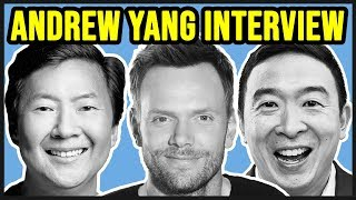 Andrew Yang on the Ken Jeong and Joel McHale Podcast