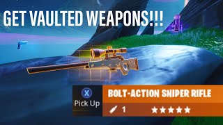 Get *VAULTED WEAPONS* in SECONDS on Your OWN CREATIVE ISLAND!!! Fortnite Glitches Creative Season 9
