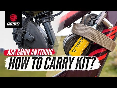 should-i-carry-my-kit-on-my-bike-or-in-a-bag?-|-ask-gmbn-anything