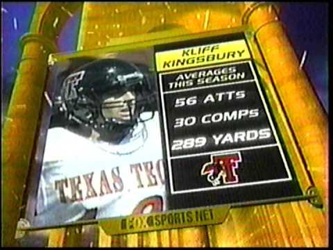 Texas Tech vs Nebraska pre-game 2000