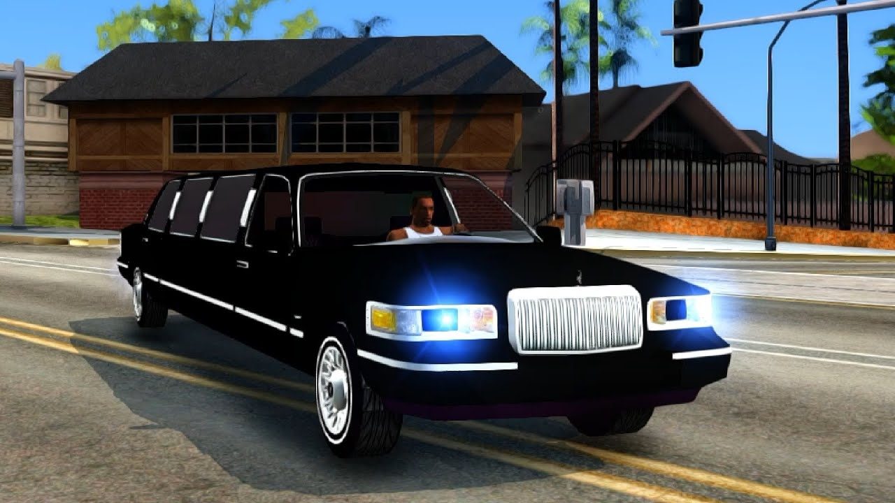 1997 Lincoln Town Car Limousine Gta San Andreas Enromovies Youtube