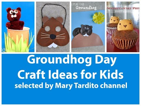 Groundhog Day Crafts For Kids – Kids Crafts Ideas
