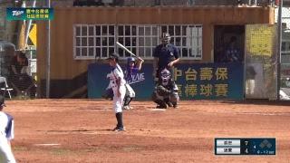 20181103 臺中台壽保社區棒球賽 春安VS通霄