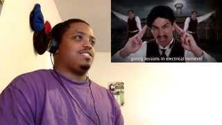 Let's Watch Epic Rap Battles Of History: Thomas Edison VS Nikola Tesla