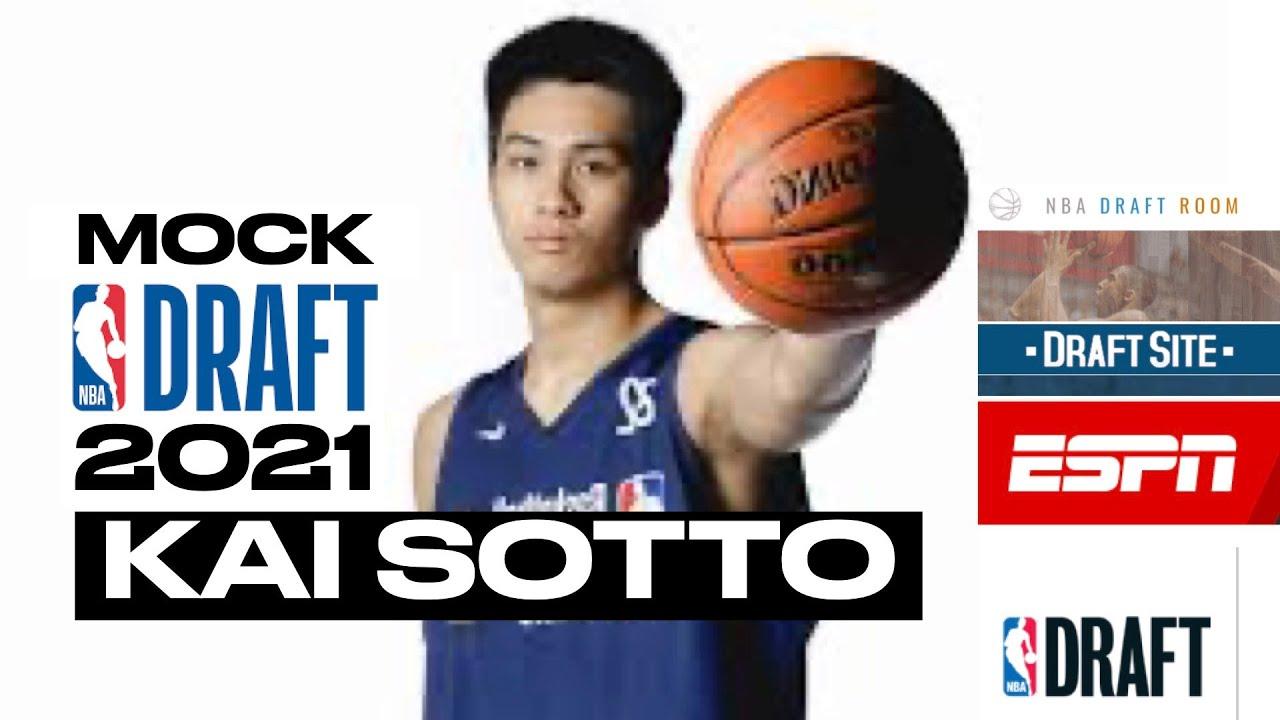 Kai Sotto Rank For The NBA Mock Draft 2021   NBA Draft Site   Draft Room   ESPN Mock Draft - YouTube