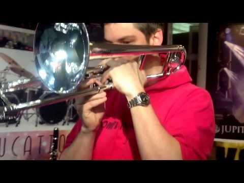 Tromba Jazzbone at Music Educational Expo 2014