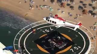 100th anniversary - Aston Martin - Burj Al Arab (show & making-of)
