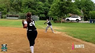 Krystal Diaz NCAA Softball Skills Video Class of 2022 1st Base 3rd Base