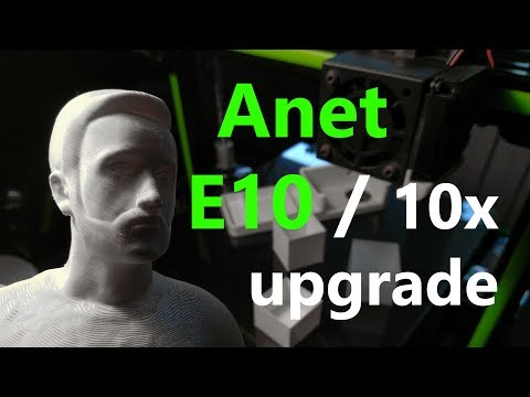 10 upgrade per la stampante 3D Anet E10
