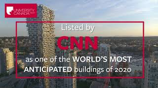 Explore new state of the art campus of University Canada West | UCW