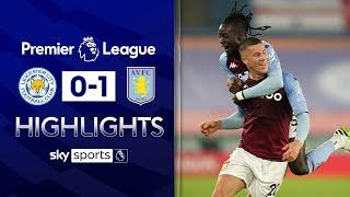 Ross Barkley scores 91st minute winner! | Leicester 0-1 Aston Villa | Premier League Highlights