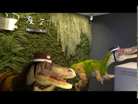 Japan's robot hotel has 'dinosaurs' for concierges and porters