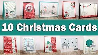 10 Christmas Cards | SSS December Card kit