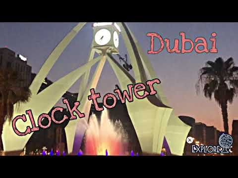 Deira Clock Tower Dubai Road   Girlie Licious