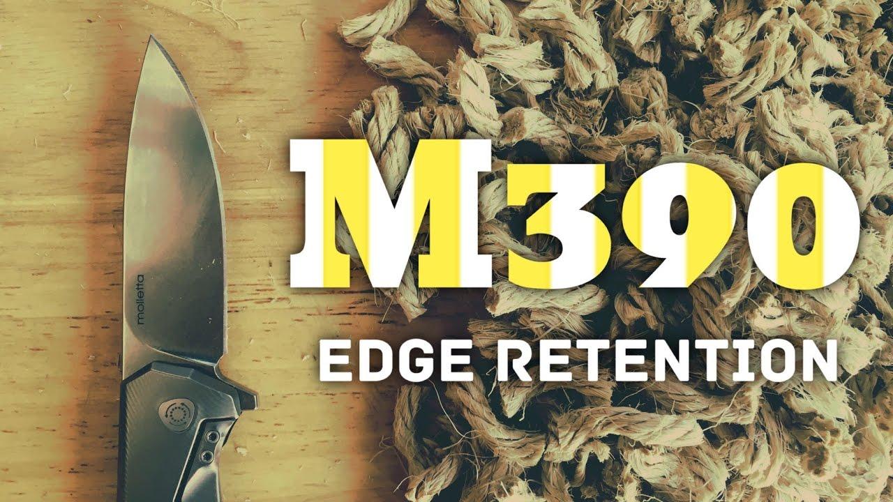 Download Edge Retention Test! M390 Steel -  Superior Edge Retention - Lionsteel TRE