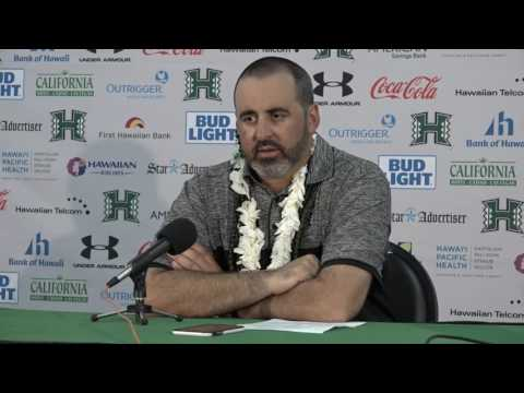 Nick Rolovich Post Game Press Conference vs. Nevada 10-1-16