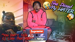 REACTING TO THE I LOVE CJ SO COOL GIRL!