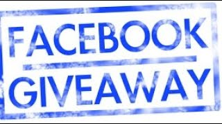 Giveaway for my subscribers on my Facebook page!