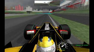 Rfactor -  F1 2010 - Kubica - Renault on Interlagos