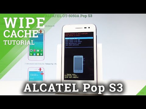 How to Wipe Cache Partition in ALCATEL Pop S3 - Refresh Android |HardReset.Info