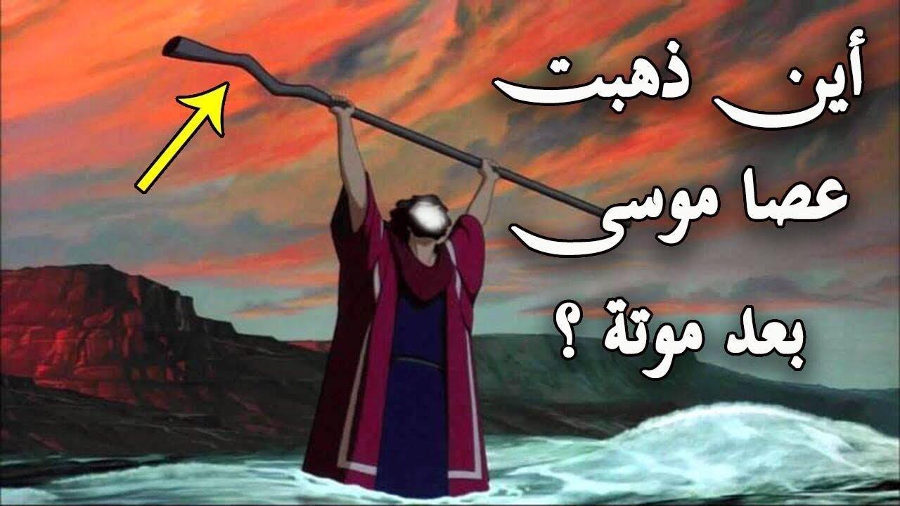 هل تعلم أين ذهبت عصا موسى عليه السلام بعد وفاته وأين توجد الان